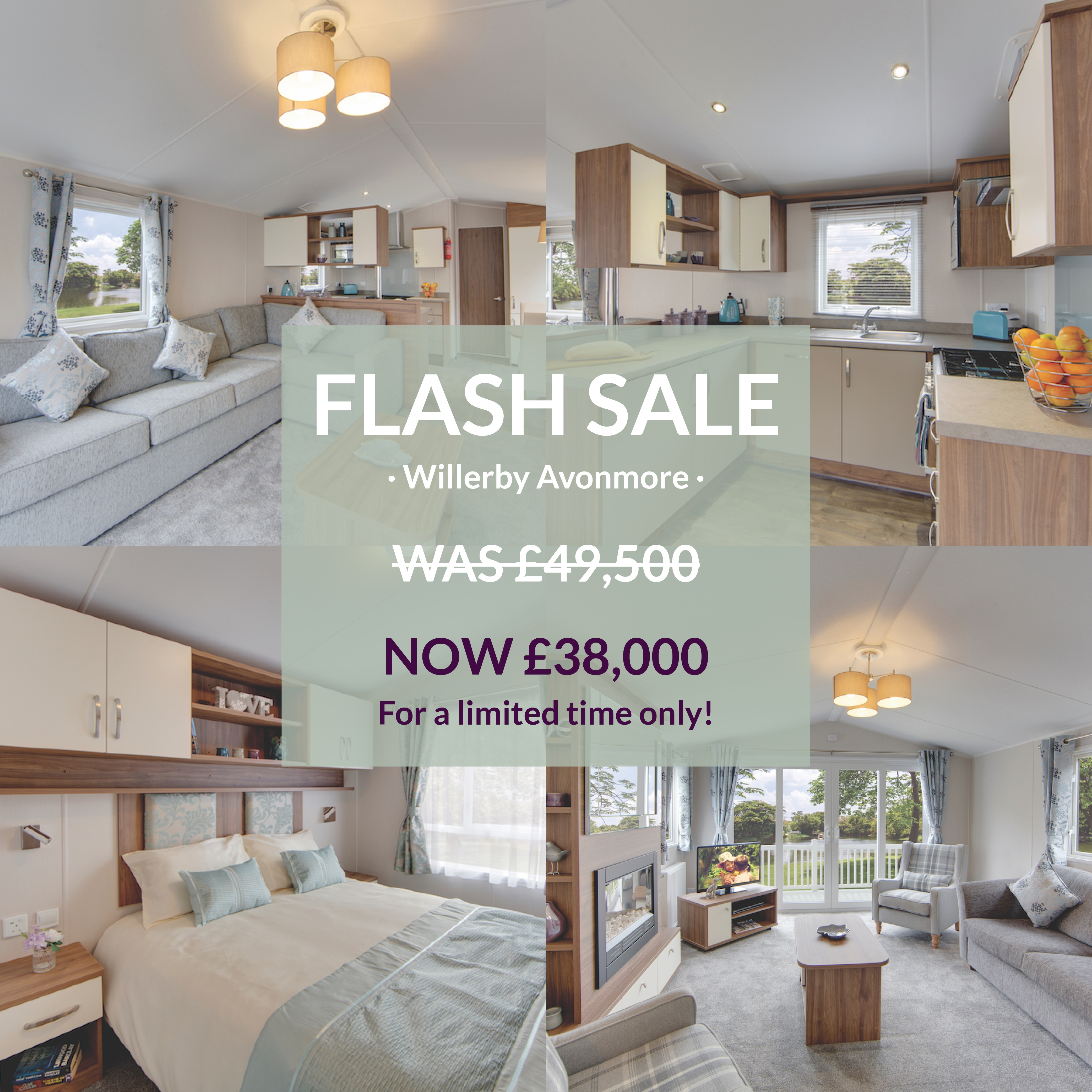 Pitch 40 Willerby Avonmore Flash Sale Social Graphic 1