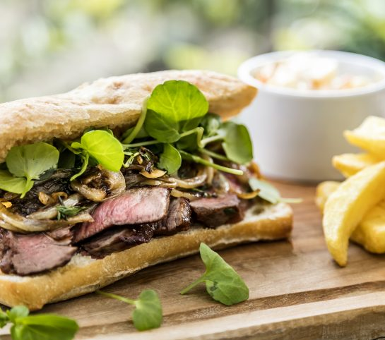 Steak Sandwich Gamekeepers Inn
