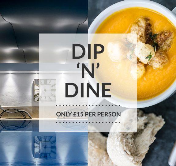 Laps Dip N Dine Social Graphic